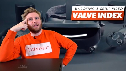 Valve Index - Unboxing and Set-up