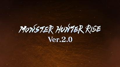 Monster Hunter Rise - Update 2.0 Traileri