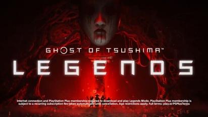 Ghost of Tsushima - Legends Standalone -julkaisutraileri