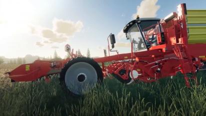 Farming Simulator 19 - Harvesting Crops -pelikuvatraileri
