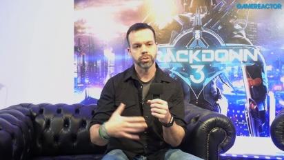 Crackdown 3 - Dave Johnson haastattelussa