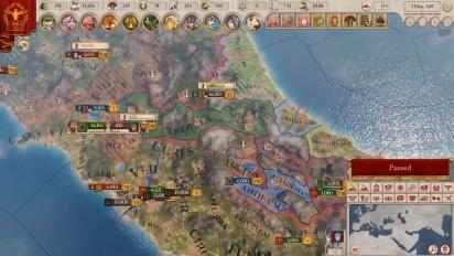 Imperator: Rome - julkaisutraileri