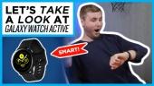 Nopea katsaus - Galaxy Watch Active