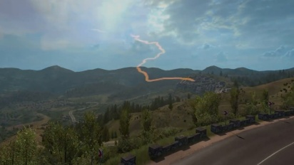 Euro Truck Simulator 2 - Road to the Black Sea DLC -traileri