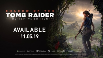 Shadow of the Tomb Raider: Definitive Edition -traileri