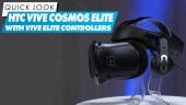 Nopea katsaus - HTC Vive Cosmos Elite with Vive Elite Controllers