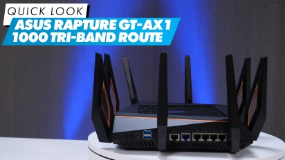 Nopea katsaus - Asus Rapture GT-AX1 1000 Tri-band Router