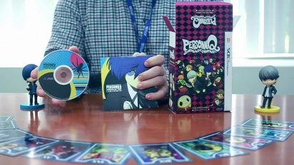 Persona Q: Shadow of the Labyrinth - Unboxing