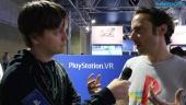 The Playroom VR - Nicolas Doucetin haastattelu