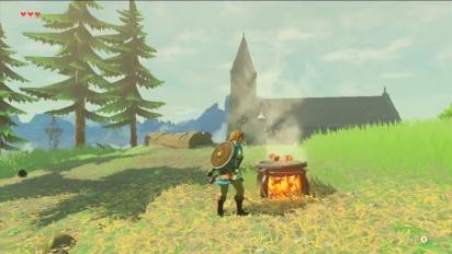The Legend of Zelda: Breath of the Wild - Cooking Video