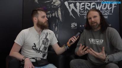 Werewolf: The Apocalypse - haastattelussa Martin Ericsson