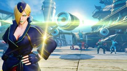 Street Fighter V: Arcade Edition - Falke-pelikuvatraileri