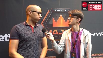 Faceit Major - James Bardolph haastattelussa