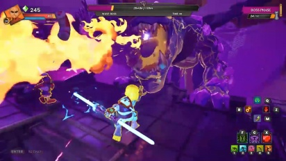 Dungeon Defenders: Awakened - Gameplay Traileri