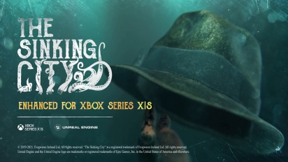 The Sinking City - Xbox Series S/X -julkaisutraileri