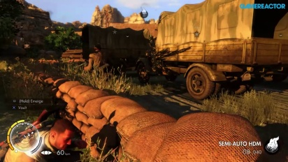 Sniper Elite 3 Ultimate Edition pelikuvaa - Tehtävä kolme (PS4)