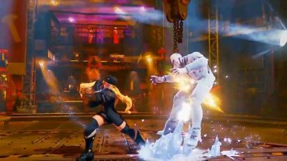 Street Fighter V - Kolinin paljastustraileri
