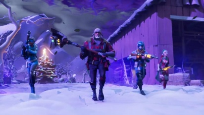 Fortnite - Survive the Holidays Save the World -traileri