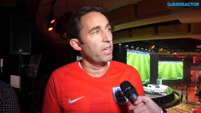 FIFA 19 - Matthew Prior ja Sam Rivera haastattelussa