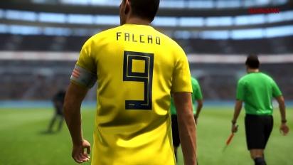 PES 2019 - New Ambassador Falcao -traileri