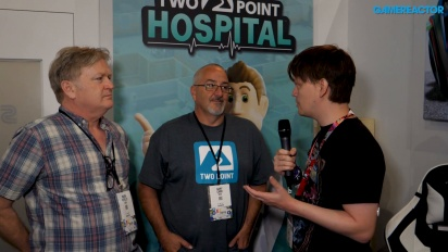 Two Point Hospital - Gary Carr & Mark Webley haastattelussa