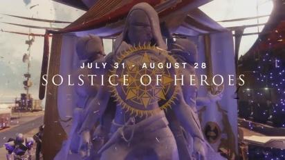 Destiny 2 - Solstice of Heroes -traileri