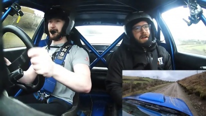 Dirt Rally 2.0 - Jon Armstrong takes the Chief Games Designer for a spin