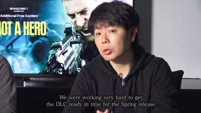 Resident Evil 7: Biohazard - Not a Hero, kehittäjien viesti
