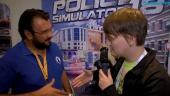 Police Simulator 18 - Pedro Pinho haastattelussa