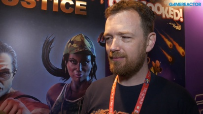 Raging Justice - Nic Makin haastattelussa