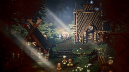 Octopath Traveler - Paths of Noble Acts and Rogue Decisions Info -traileri