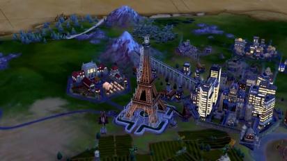 Sid Meier's Civilization VI - julkaisutraileri (Nintendo Switch)