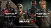 Gears 5 - Terminator Dark Fate Character Packs -traileri