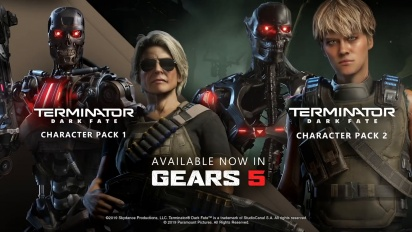 Gears 5 - Terminator Dark Fate Character Packs -traileri