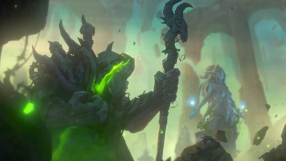 Hearthstone: Ashes of Outland - Demon Hunter Cinematic Traileri