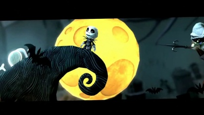 Little Big Planet - Nightmare Before Christmas DLC Trailer
