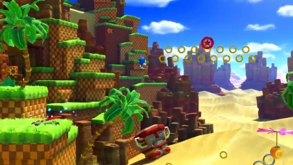 Sonic Forces - Green Hill Zone -pelikuvaa