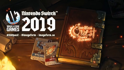 SteamWorld Quest - Boss Battle -pelikuvaa Nintendo Switchillä