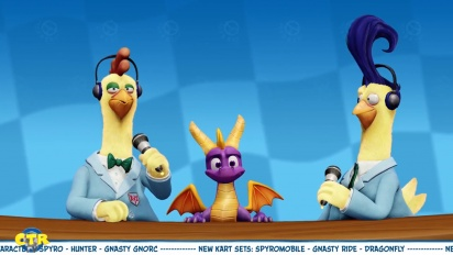 Crash Team Racing Nitro-Fueled - Spyro & Friends Grand Prix -traileri
