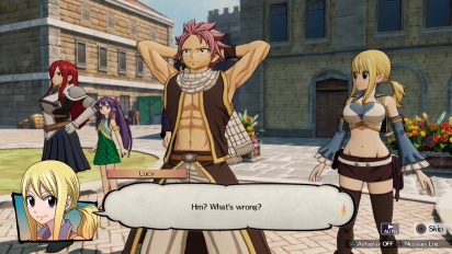 Fairy Tail - Crocus & Grand Magic Games Gameplay