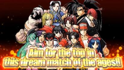 SNK vs. Capcom: The Match of the Millenium -traileri