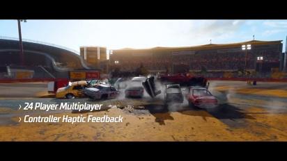 Wreckfest - Playstation 5 Feature Traileri