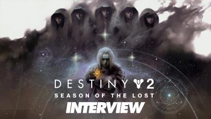 Destiny 2: Season of the Lost - Robbie Stevens & Nikko Stevens haastattelussa
