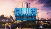 Cities: Skylines - Playstation 4 Edition - julkistustraileri