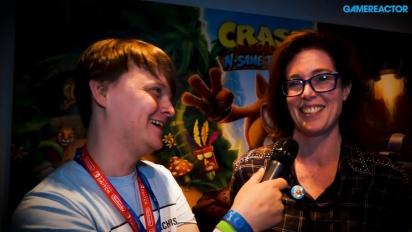 Crash Bandicoot: Nsane Trilogy - haastattelussa Kara Massie