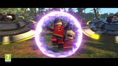 Lego The Incredibles - Parr Family -pelikuvatraileri