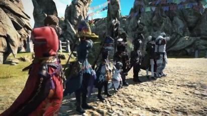 Final Fantasy XIV - Under the Moonlight & Monster Hunter: World -traileri