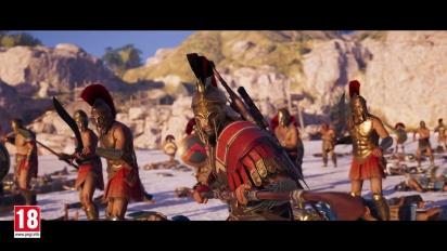 Assassin's Creed Odyssey - julkaisutraileri