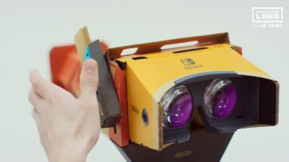 Nintendo Labo - Toy-Con 04: VR Kit