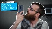 Tarkastelussa Sony Xperia 1